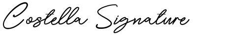 Costella Signature