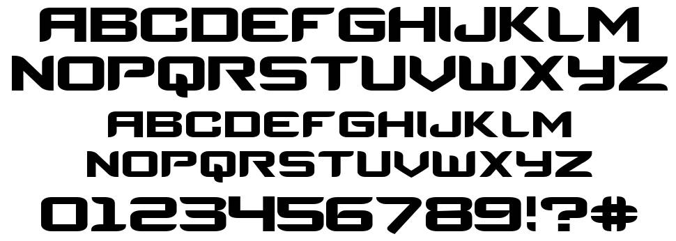 Counter-Strike font