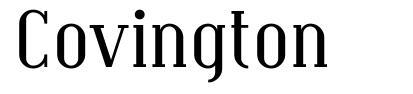 Covington 字形