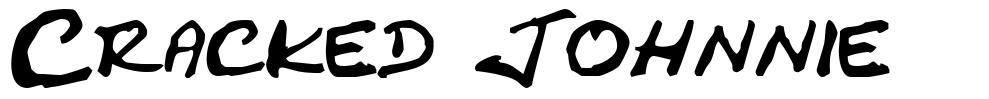 Cracked Johnnie 字形