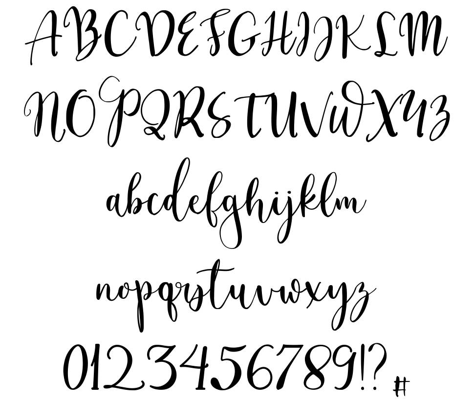 Craftylover font