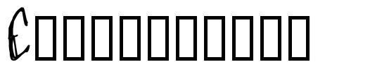 Craptacular шрифт