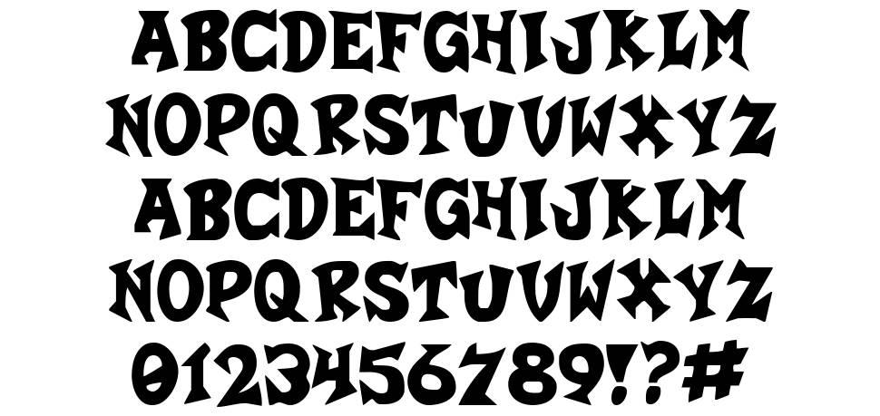 Crash-a-Like font