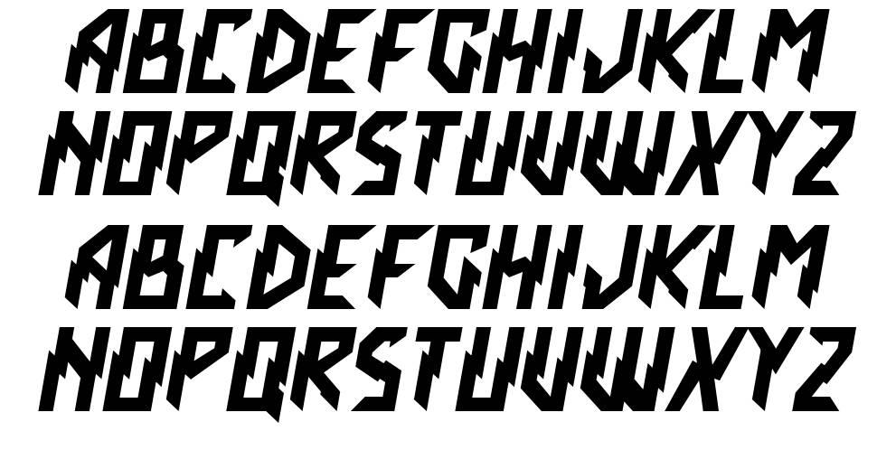 Crash Scene font