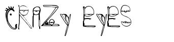 Crazy Eyes font