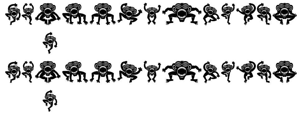 Crazy Monkey font