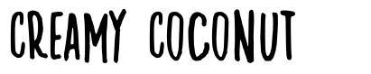 Creamy Coconut 字形