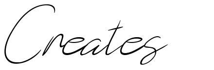 Creates font