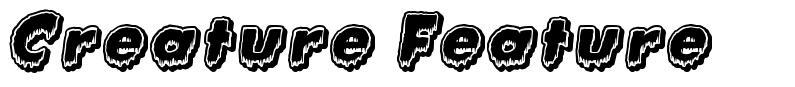Creature Feature font