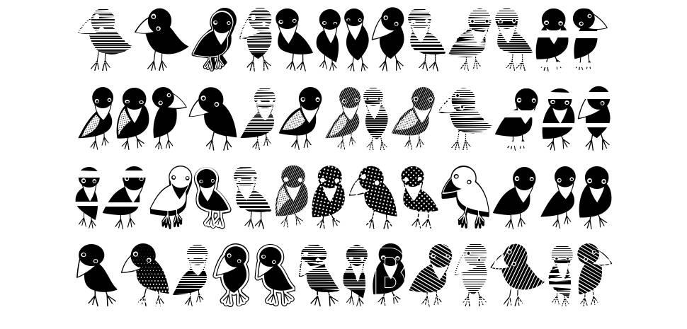 Crow font