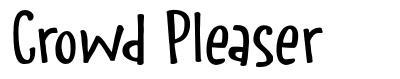Crowd Pleaser font