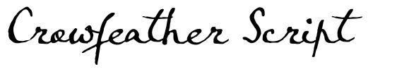 Crowfeather Script