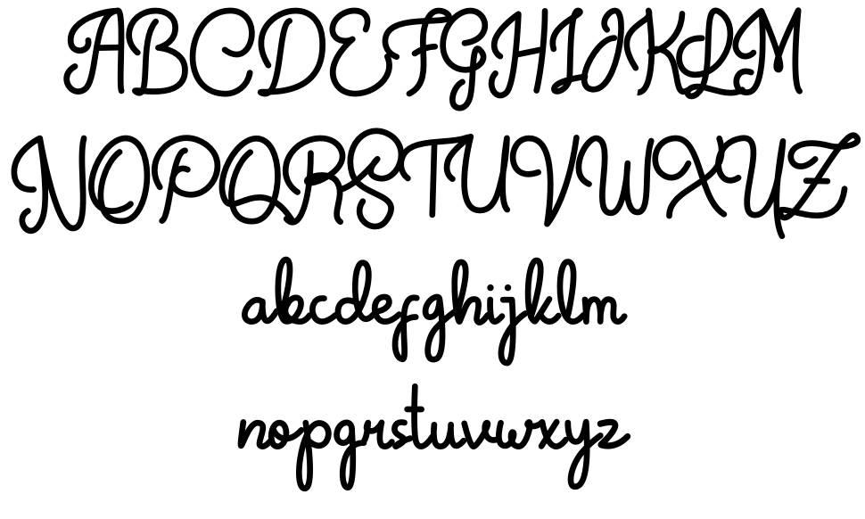 Crunchy Pasta font