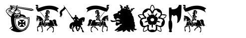 Crusader font
