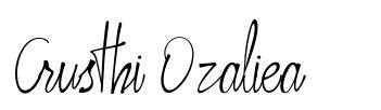 Crusthi Ozaliea