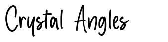 Crystal Angles