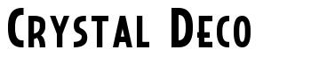 Crystal Deco font