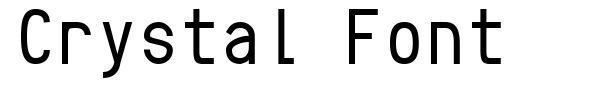 Crystal Font font