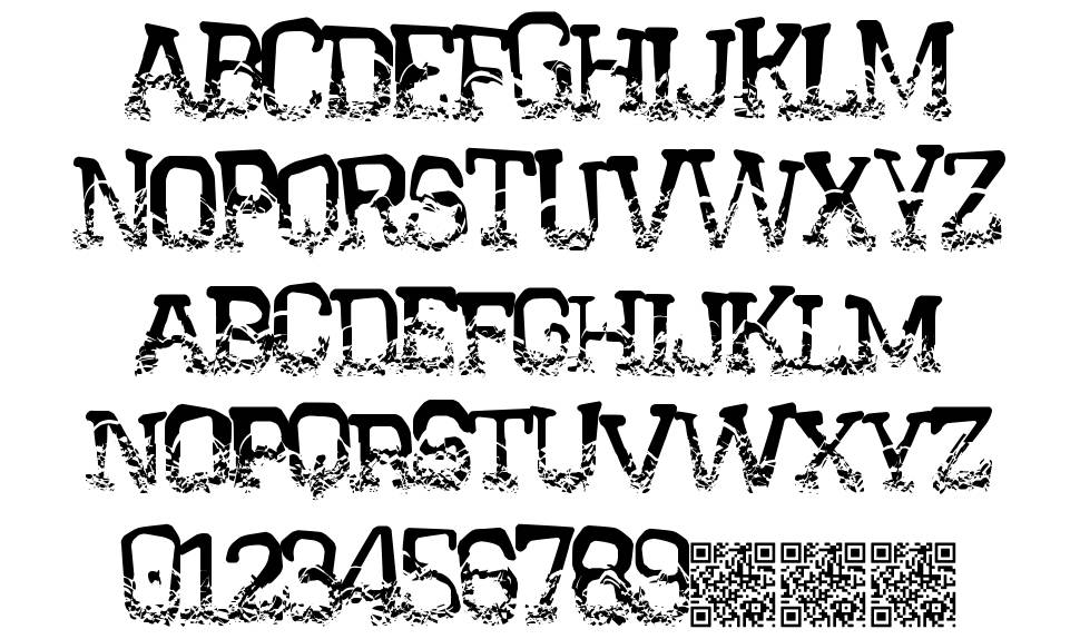 Crystal House font