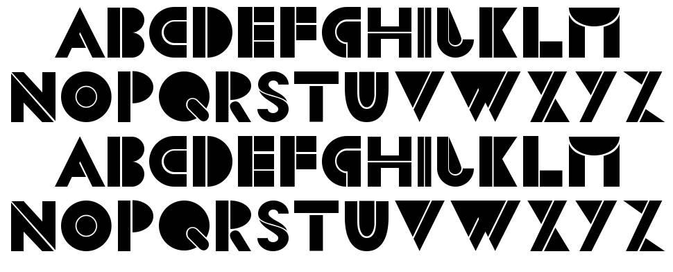 CS Blocks font