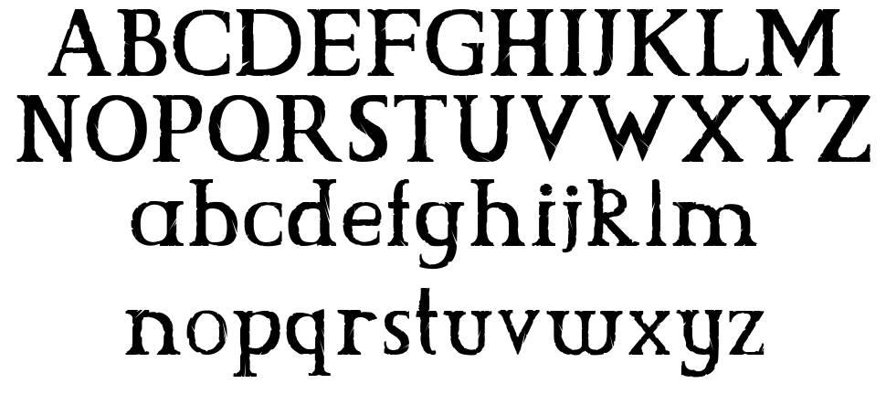 CS Grimrock font