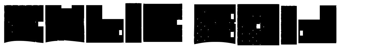 Cubic Bold шрифт