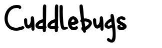 Cuddlebugs písmo