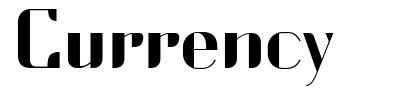 Currency font