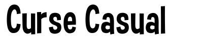Curse Casual font