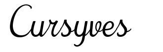 Cursyves
