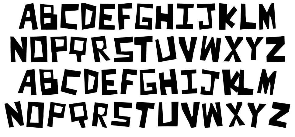 Cut It Out font