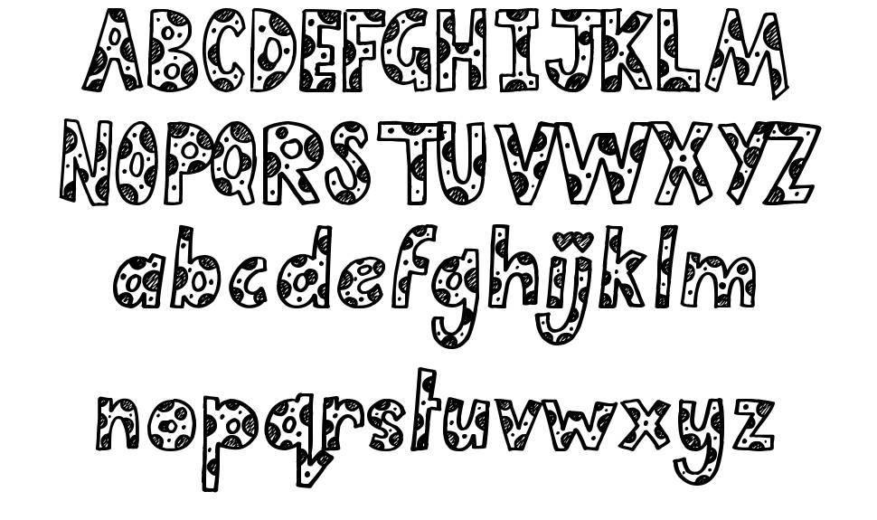 Cutie Pie font