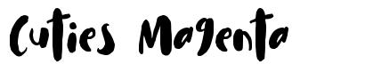 Cuties Magenta fonte