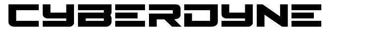 Cyberdyne font