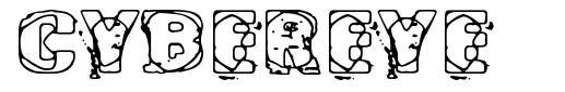 Cybereye font