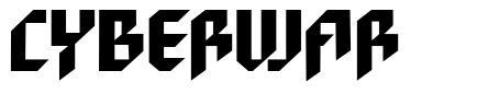 Cyberwar font