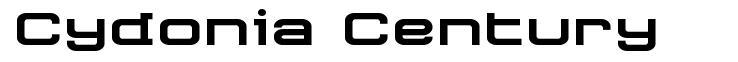 Cydonia Century шрифт