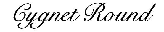 Cygnet Round font