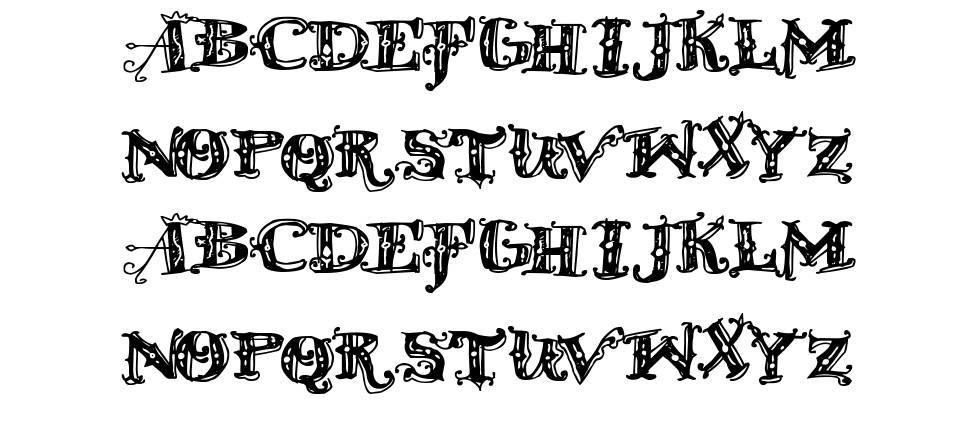 D Old Modern font