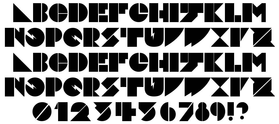 Daddy Dont Disco font