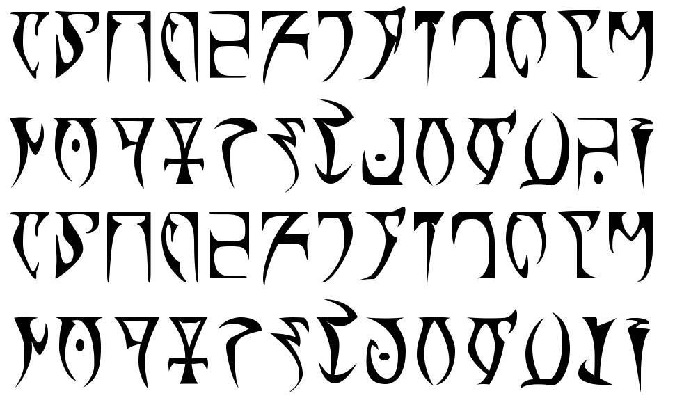 Daedra font