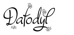 Dafodyl font