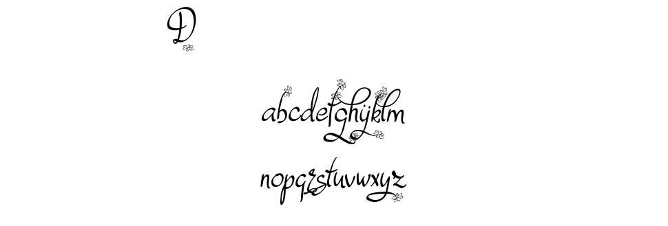 Dafodyl шрифт