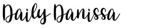 Daily Danissa font