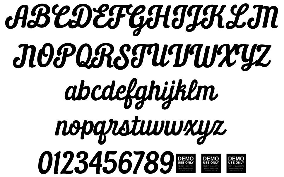Daily Grind font