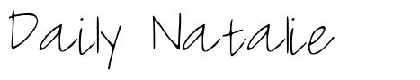 Daily Natalie