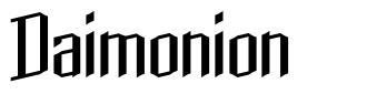 Daimonion font