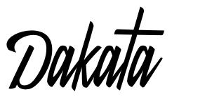 Dakata fonte