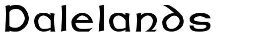 Dalelands font