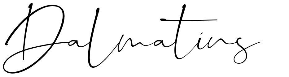 Dalmatins 字形